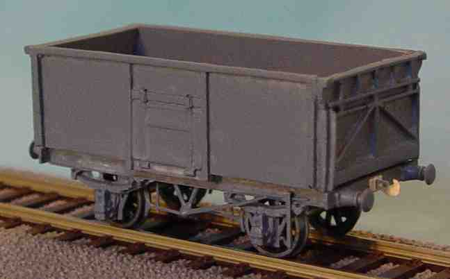 British 1:87 Scale Society model of BR 16 ton mineral wagon made by Mick Scarrow