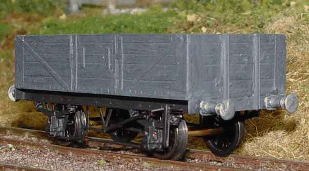 British 1:87 Scale Society model of RCH 5-plank wagon made by Mick Scarrow