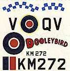 From Dutch Decal sheet K4/1 for 1:48 scale