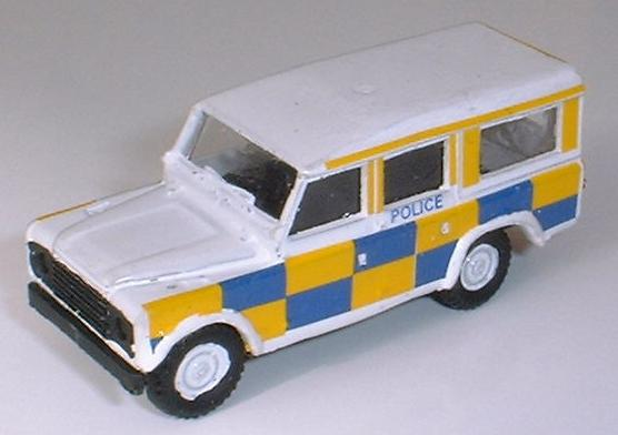 Grinwis Land Rover - City of London Police station wagon