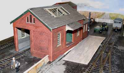 Hemswell goods shed ramp