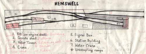 Hemswell layout plan