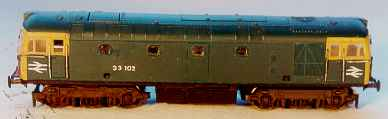 British Railways Class 33 by Phil Burkett