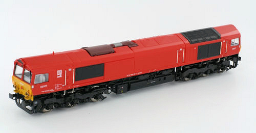 Mehano Class 66 5-door low emission type in German livery