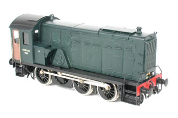 Armstrong Whitworth 6-wheel diesel shunter (Pb Messing Modelbouw)