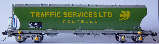 Phil Burkett - Polybulk wagon