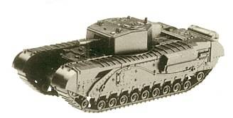 Roco Minitanks 267 - Churchill III tank